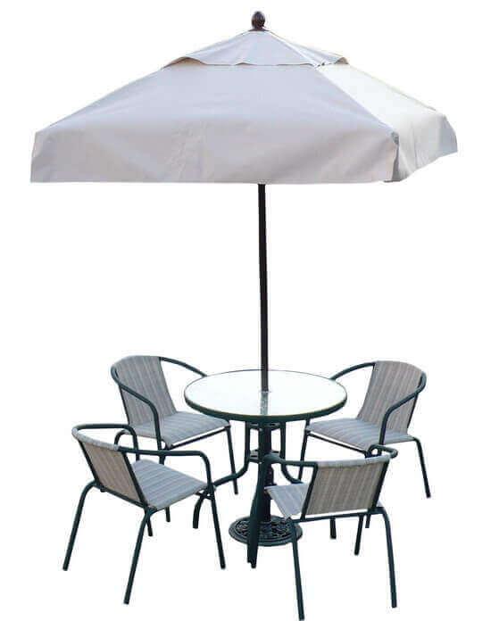 庭園咖啡桌椅