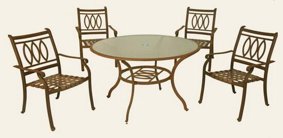 庭園休閒桌椅組