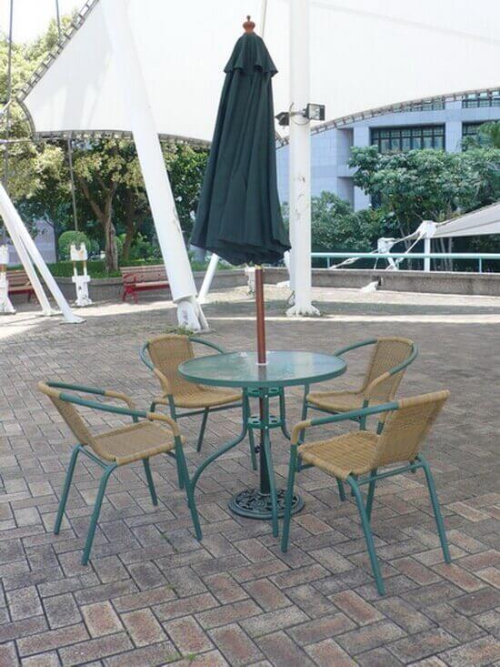 陽台咖啡桌