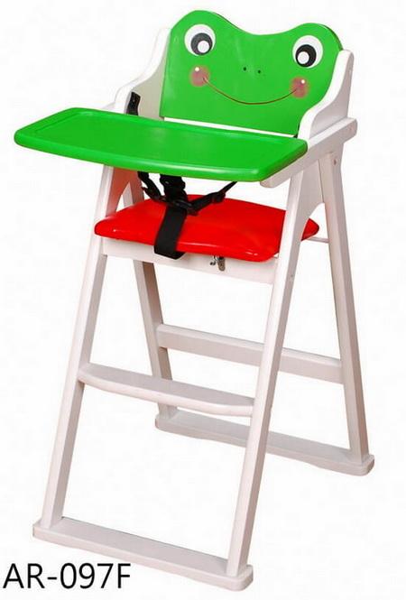 兒童高腳木椅