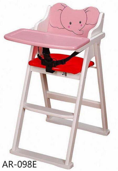 木頭兒童餐椅