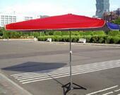 紅藍80吋正攤販傘
